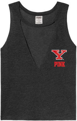 PINK Youngstown State University Choker Neck Muscle Tank