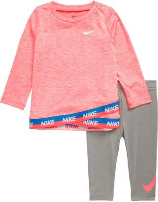 Nike Dri-FIT Crossover Tunic & Leggings Set