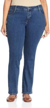bd165e9d Lee Women's Plus-Size Classic Fit Monroe Straight Leg Jean
