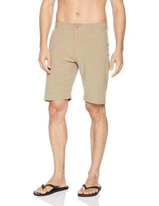 Burnside Men's High Stakes Stretch Hybrid Quick Drying Modern Fit Short