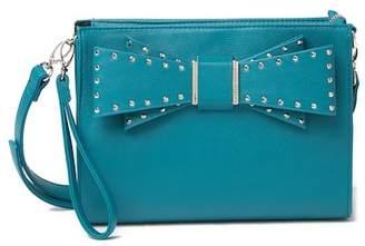 Betsey Johnson Studded Bow Crossbody Bag