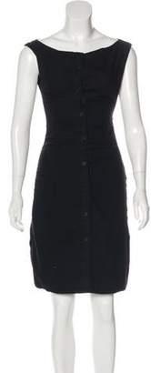 Hussein Chalayan Sleeveless Button-Up Dress