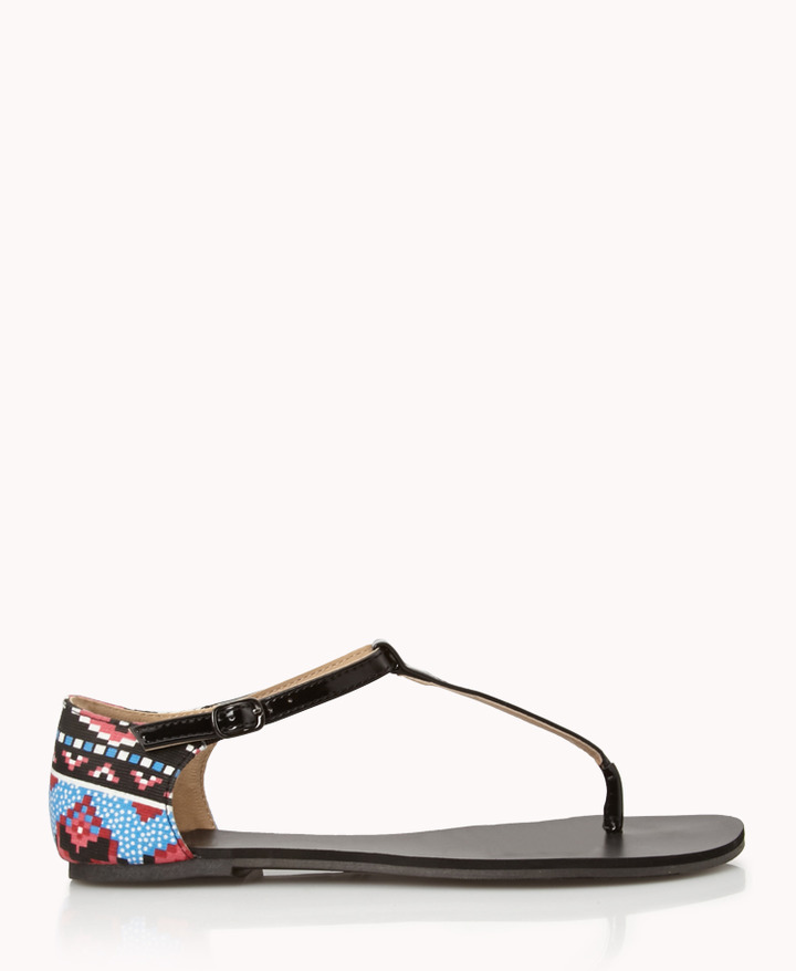 Forever 21 Out West Thong Sandals
