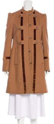 Marc Jacobs Knee-Length Wool Coat