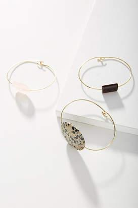 Anthropologie Heather Cuff Bracelet Set