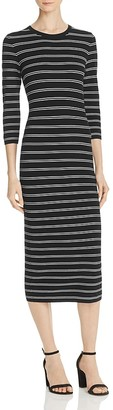 Theory Delissa Striped Maxi Dress $415 thestylecure.com