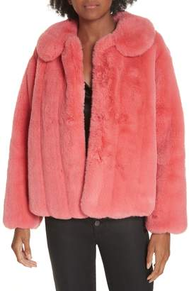 Alice + Olivia Martel Faux Fur Coat