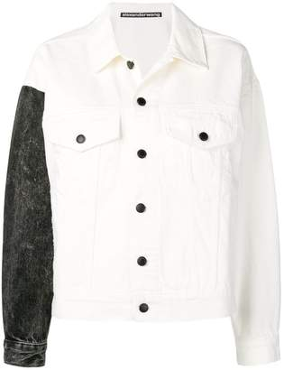 Alexander Wang contrast denim jacket