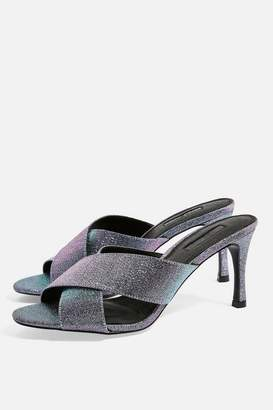 Topshop Womens Spirit Cross Strap Mules