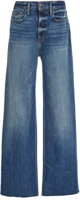 Frame Heritage California High-Rise Wide-Leg Jeans
