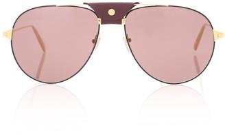 Cartier Eyewear Collection Santos de aviator sunglasses
