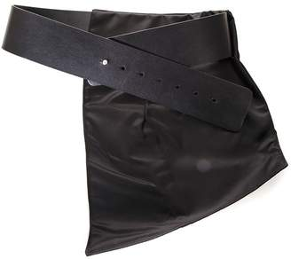 Sportmax Black Belt With Removable Band