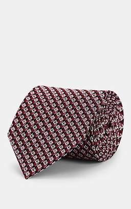 Gucci Men's 3D G Silk Jacquard Necktie - Pink