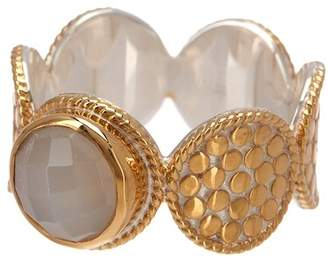 Anna Beck 18K Gold Plated Sterling Silver Multi-Disc Moonstone Ring