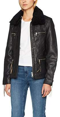 Liebeskind Berlin Women's W1175020 Jacket, (Black 9999), Medium