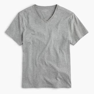 J.Crew Slim Mercantile Broken-in V-neck T-shirt in heather grey