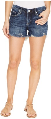 Blank NYC - Denim Cut Off Shorts in Bits and Pieces Women's Shorts $78 thestylecure.com