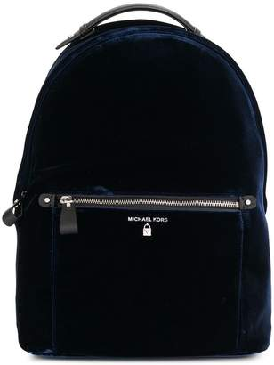 MICHAEL Michael Kors large navy backpack