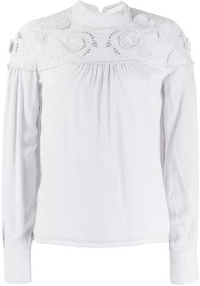 See by Chloe round neck blouse