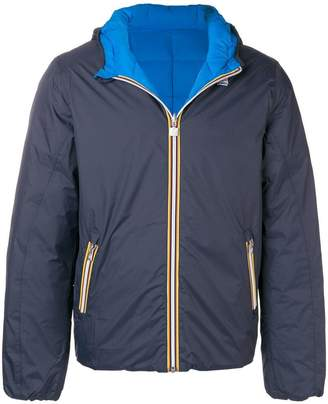 K-Way hooded zipped jacket