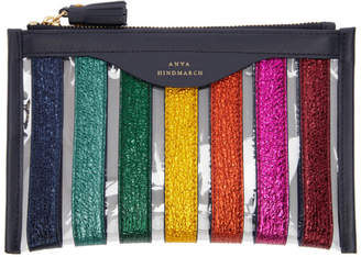 Anya Hindmarch Multicolor Stripes Loose Pocket Pouch