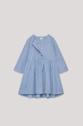 Cos LONG-SLEEVED CIRCLE-CUT DRESS