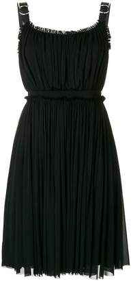 Alexander McQueen buckled strap dress