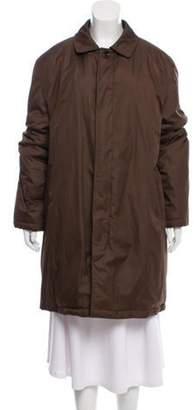 Etro Knee-Length Puffer Coat Brown Knee-Length Puffer Coat