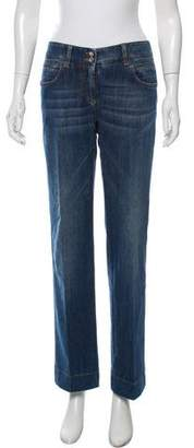 Dolce & Gabbana Mid-Rise Wide-Leg Jeans