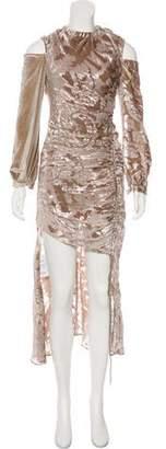 Self-Portrait Velvet Maxi Dress