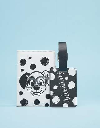 BB Designs Disney 101 Dalmatians Passport cover and Luggage tag