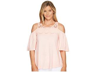Sanctuary Aria Top Women's Short Sleeve Pullover