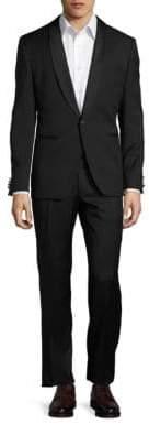 HUGO Satin-Trimmed Tuxedo Set