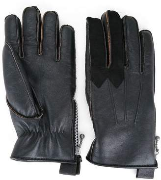 Addict Clothes Japan fur lined gloves