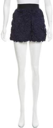 Nili Lotan Textured Silk Skirt