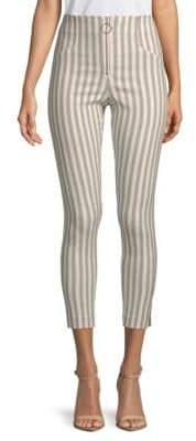 Romeo & Juliet Couture High-Waisted Stripe Pants