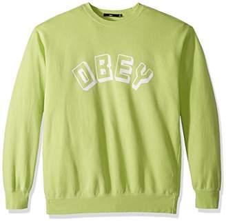Obey Men's World Sweatshirt Crew Neck