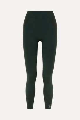 Tory Sport Cropped Stretch-jersey Leggings