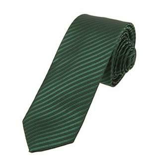 DAE1063 Formal Wear White Checkers Skinny Tie Design for Groomsmen Dan Smith