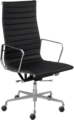 Charles and Ray Eames Replica Office Chairs Replica Eames High-Back Office Chair, Black