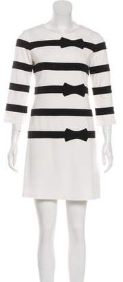 Julie Brown Striped Mini Dress