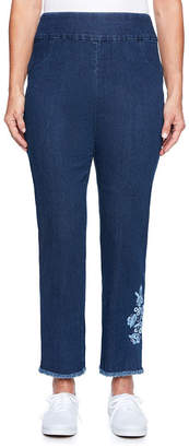 Alfred Dunner Out Of The Blue Classic Fit Ankle Pants