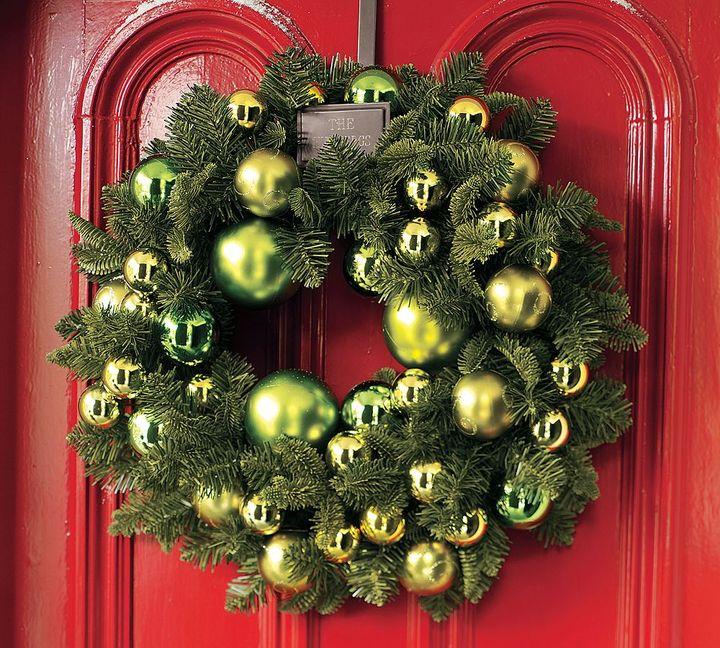 Outdoor Ornament Pine Wreath
