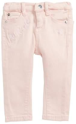 DL1961 Sophie Embroidered Slim Fit Jeans
