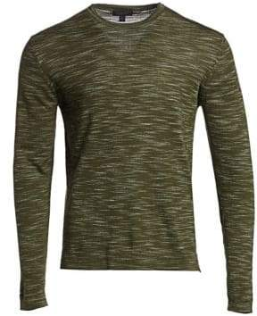 Saks Fifth Avenue COLLECTION Space Dye Long Sleeve Sweater