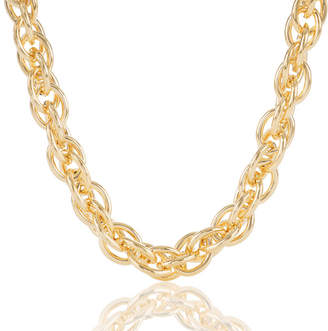 Brahmin Double Round Chain Necklace Providence