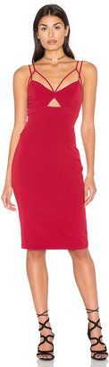 Bardot Cutaway Dress $98 thestylecure.com