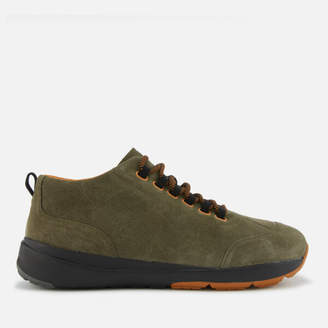 Camper Men's Ergo Hiker Style Boots - Dark Green