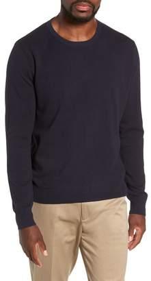 J.Crew Cotton & Cashmere Pique Crewneck Sweater