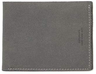 Saturdays NYC Bifold Leather Wallet